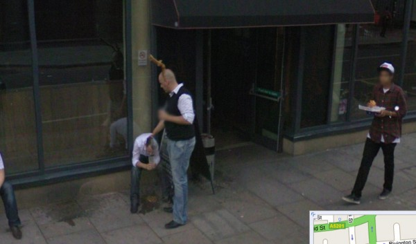 google street view in europa funny