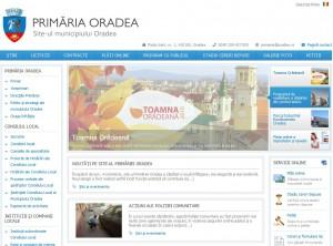 site oradea 2010 10 04 09h22 44 300x222 Site ul primariei are design nou